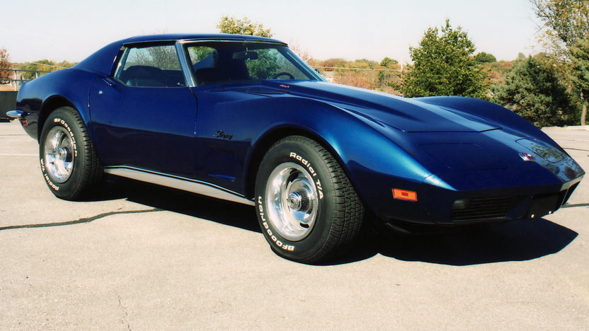 1973 Chevrolet Corvette Coupe 454 CI, Automatic presented as lot F105 at Kansas City, MO 2011 - image8