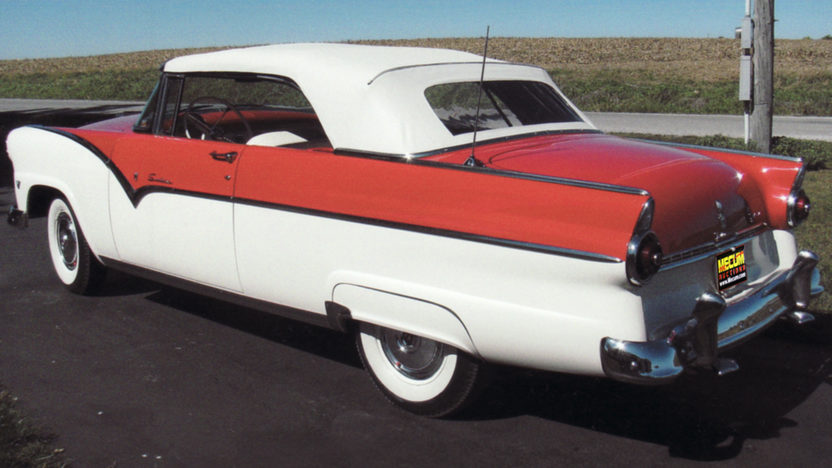 1955 Ford Sunliner Convertible 272 CI, Automatic presented as lot F119 at Kansas City, MO 2011 - image2