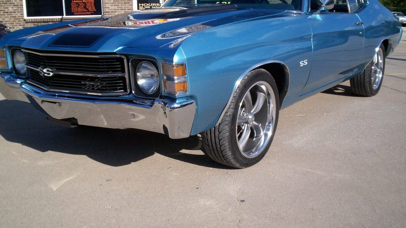 1971 Chevrolet Chevelle 454 CI, Automatic presented as lot F122 at Kansas City, MO 2011 - image6