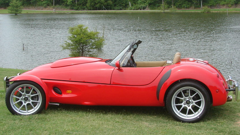 1997 Panoz AIV Roadster 4.6L, 5-Speed presented as lot F133 at Kansas City, MO 2011 - image2