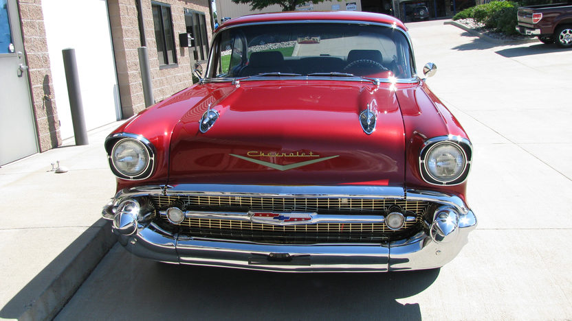 1957 Chevrolet Bel Air 2-Door Hardtop 383/500 HP, Automatic presented as lot F155 at Kansas City, MO 2011 - image5