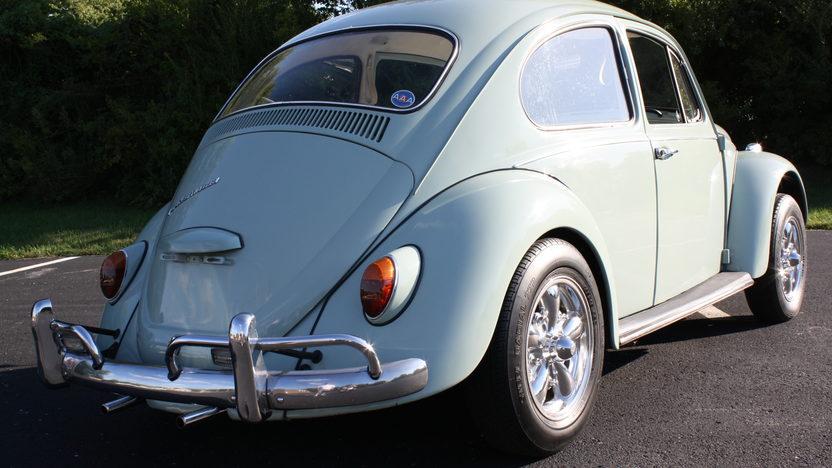 1967 Volkswagen Beetle 149/53 HP, 4-Speed presented as lot F163 at Kansas City, MO 2011 - image2