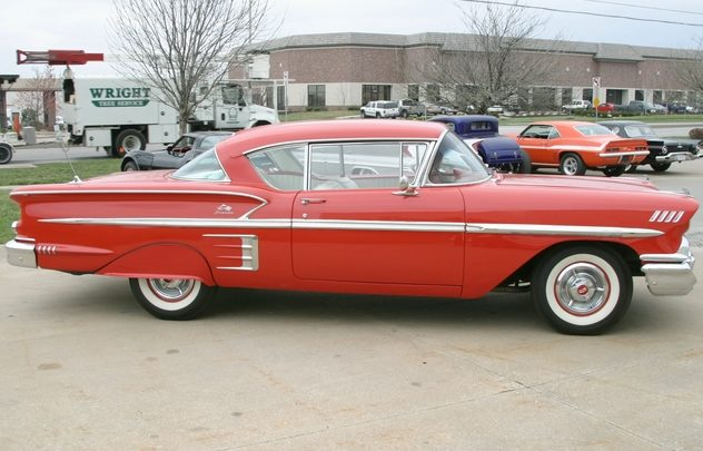 1958 Chevrolet Impala 348 CI, Automatic presented as lot F167 at Kansas City, MO 2011 - image2