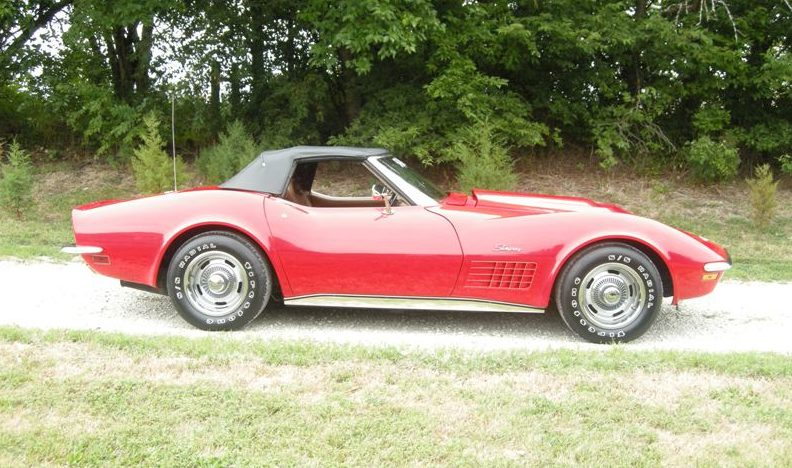 1972 Chevrolet Corvette Convertible 350 CI, Automatic presented as lot F177 at Kansas City, MO 2011 - image2