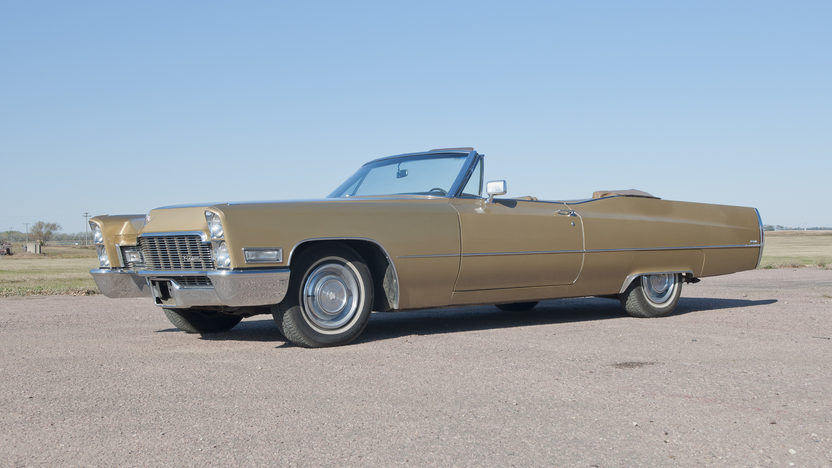 1968 Cadillac Deville Convertible 472 CI, Automatic presented as lot F191 at Kansas City, MO 2011 - image8