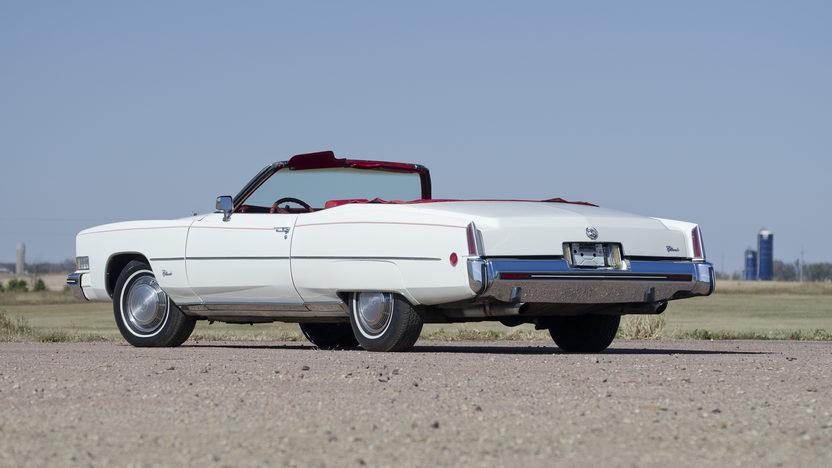1973 Cadillac Eldorado Convertible 500 CI, Automatic presented as lot F192 at Kansas City, MO 2011 - image3