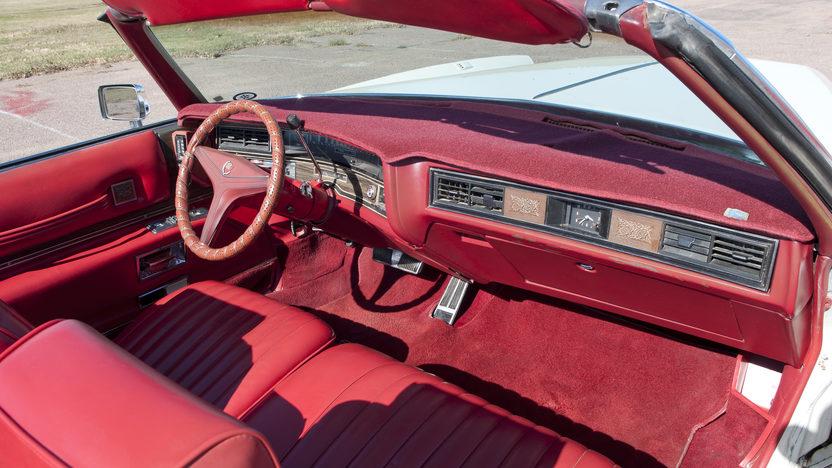 1973 Cadillac Eldorado Convertible 500 CI, Automatic presented as lot F192 at Kansas City, MO 2011 - image5