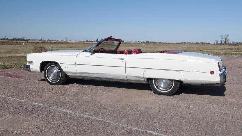 1973 Cadillac Eldorado Convertible 500 CI, Automatic presented as lot F192 at Kansas City, MO 2011 - image8