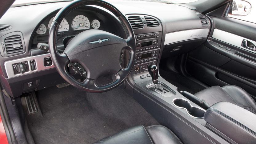 2003 Ford Thunderbird 3.9L, Automatic presented as lot F193 at Kansas City, MO 2011 - image3