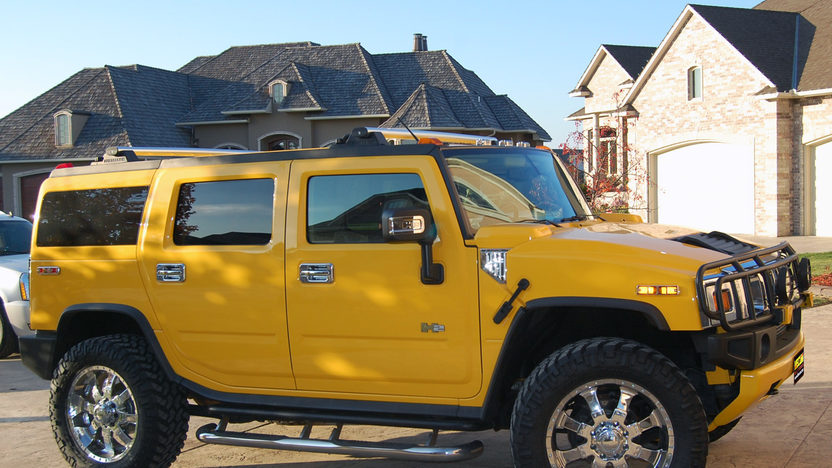 2003 Hummer  SUV 325 HP, Automatic presented as lot F199 at Kansas City, MO 2011 - image2