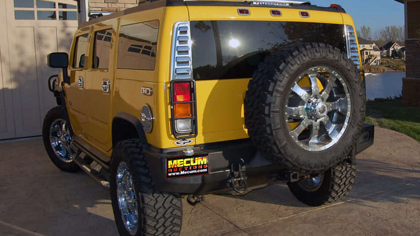 2003 Hummer  SUV 325 HP, Automatic presented as lot F199 at Kansas City, MO 2011 - image6