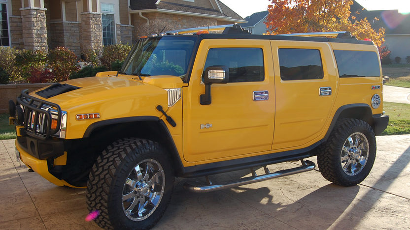 2003 Hummer  SUV 325 HP, Automatic presented as lot F199 at Kansas City, MO 2011 - image7