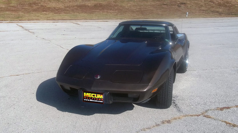 1976 Chevrolet Corvette Coupe L82, 4-Speed presented as lot F202 at Kansas City, MO 2011 - image7