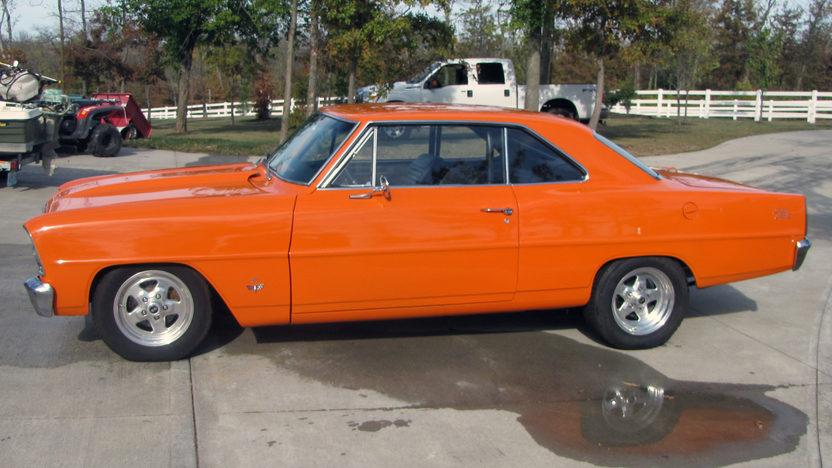 1966 Chevrolet Nova Coupe 355 CI, Automatic presented as lot F206 at Kansas City, MO 2011 - image2