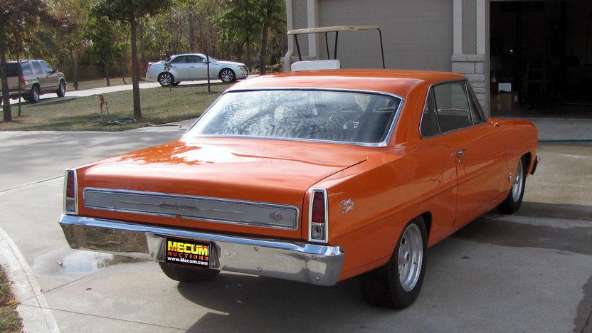 1966 Chevrolet Nova Coupe 355 CI, Automatic presented as lot F206 at Kansas City, MO 2011 - image3