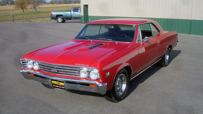 1967 Chevrolet Chevelle SS 396/375 HP, 4-Speed presented as lot F229 at Kansas City, MO 2011 - image7