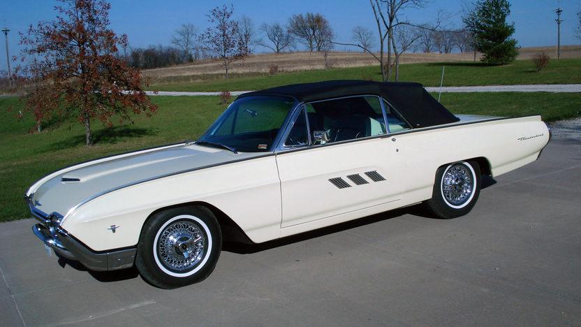 1963 Ford Thunderbird Convertible 390/300 HP, Automatic presented as lot F230 at Kansas City, MO 2011 - image8