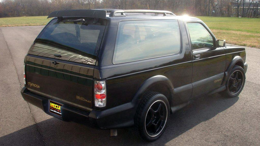 1993 GMC Typhoon presented as lot F236 at Kansas City, MO 2011 - image2