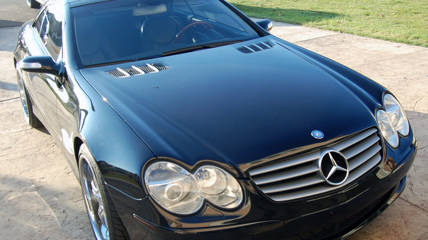 2004 Mercedes-Benz SL500 Roadster presented as lot S16 at Kansas City, MO 2011 - image6