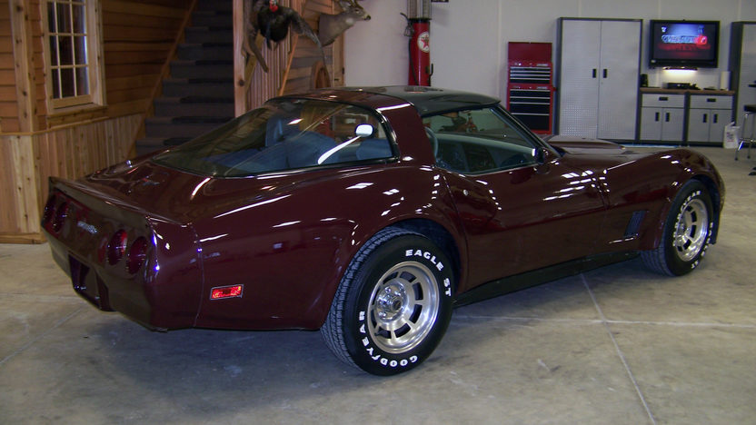 1981 Chevrolet Corvette 350 CI, Automatic presented as lot S20 at Kansas City, MO 2011 - image3