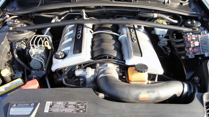 2005 Pontiac GTO LS2/650 HP presented as lot S25 at Kansas City, MO 2011 - image6