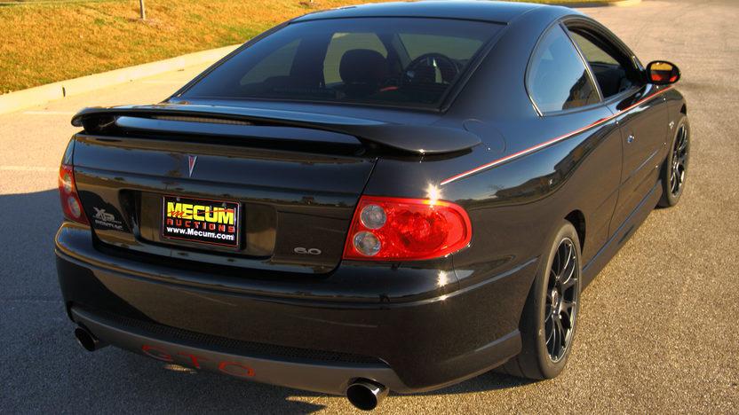 2005 Pontiac GTO LS2/650 HP presented as lot S25 at Kansas City, MO 2011 - image9