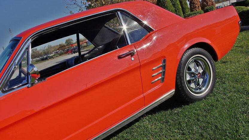 1966 Ford Mustang Coupe presented as lot S49 at Kansas City, MO 2011 - image2