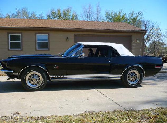 1968 Ford Mustang Convertible 428 CJ, Automatic presented as lot S162 at Kansas City, MO 2011 - image2