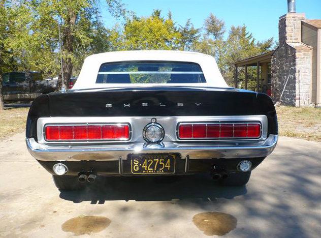 1968 Ford Mustang Convertible 428 CJ, Automatic presented as lot S162 at Kansas City, MO 2011 - image4