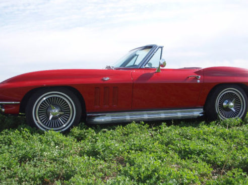 1966 Chevrolet Corvette Convertible 327/350 HP, 4-Speed presented as lot S167 at Kansas City, MO 2011 - image2