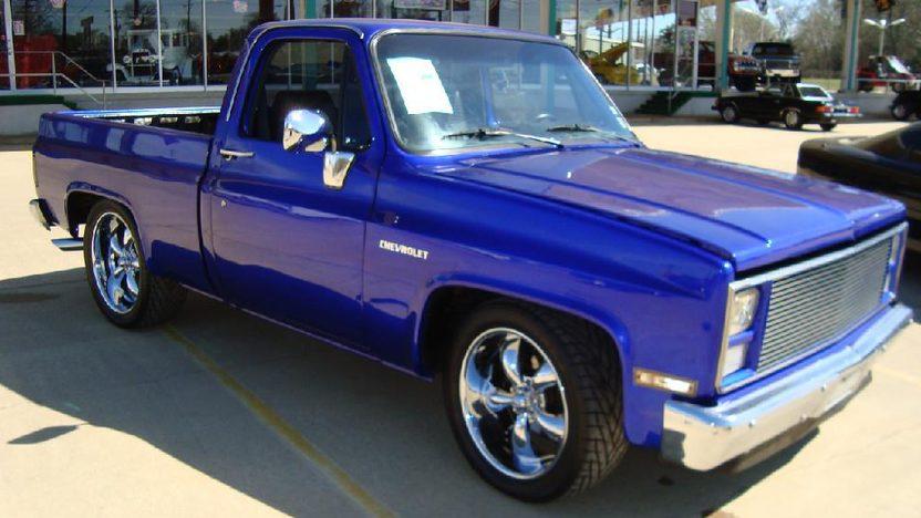 1985 Chevrolet  Pickup presented as lot S180 at Kansas City, MO 2011 - image8