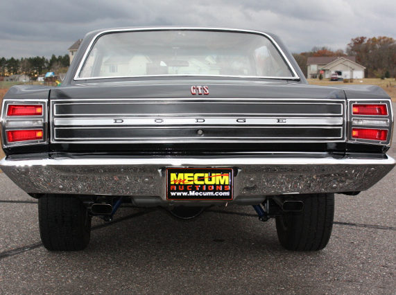 1968 Dodge Dart GTS presented as lot S186 at Kansas City, MO 2011 - image2