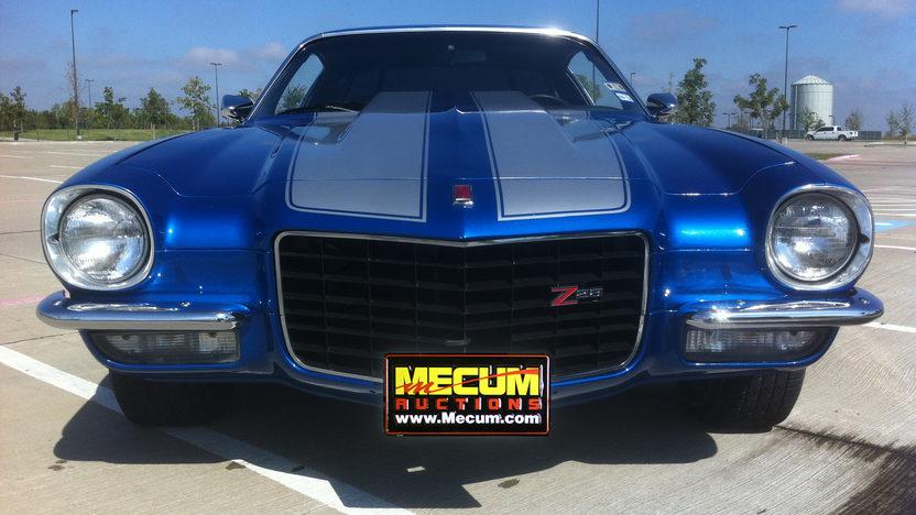 1973 Chevrolet Camaro 350/400 HP, 4-Speed presented as lot S188 at Kansas City, MO 2011 - image4