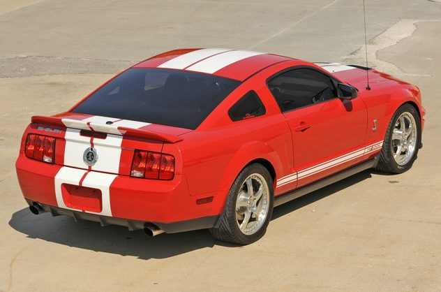 2007 Ford Mustang 5.7/590 HP, 6-Speed presented as lot S205 at Kansas City, MO 2011 - image2