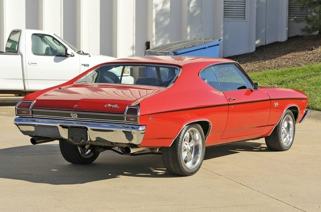 1969 Chevrolet Chevelle SS 468/500 HP, Automatic presented as lot S207 at Kansas City, MO 2011 - image2