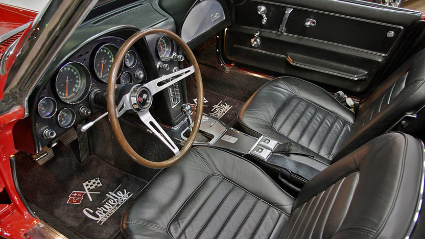 1966 Chevrolet Corvette Convertible presented as lot S65 at Kansas City, MO 2011 - image2