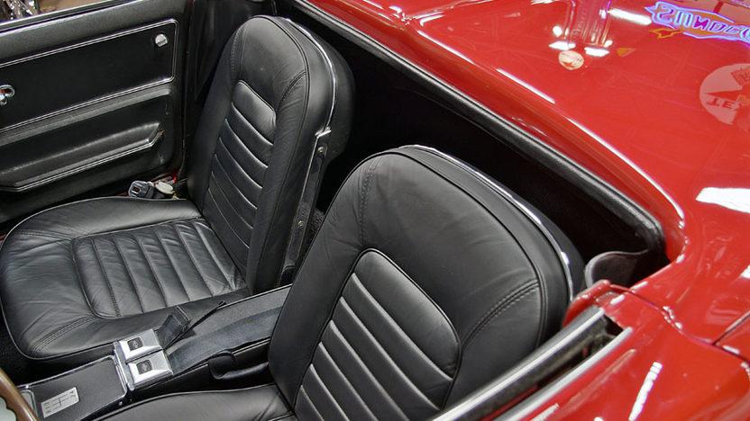 1966 Chevrolet Corvette Convertible presented as lot S65 at Kansas City, MO 2011 - image6