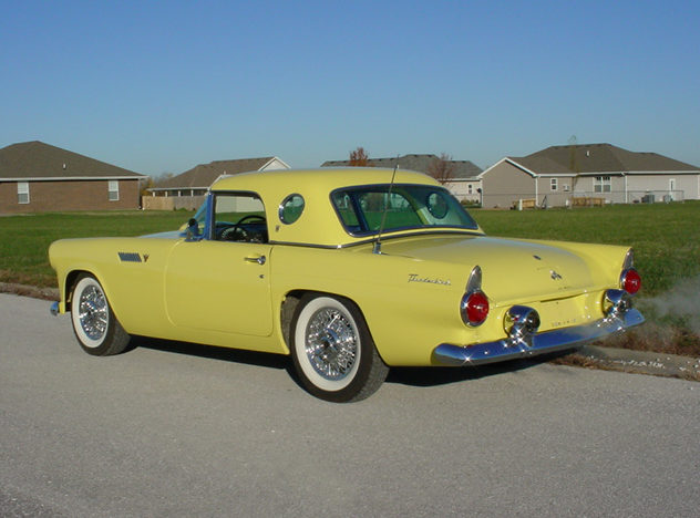 1955 Ford Thunderbird 292/193 CI, Automatic presented as lot S66 at Kansas City, MO 2011 - image2