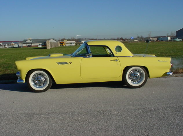1955 Ford Thunderbird 292/193 CI, Automatic presented as lot S66 at Kansas City, MO 2011 - image7