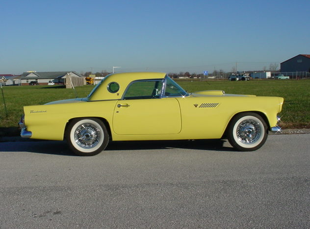 1955 Ford Thunderbird 292/193 CI, Automatic presented as lot S66 at Kansas City, MO 2011 - image8
