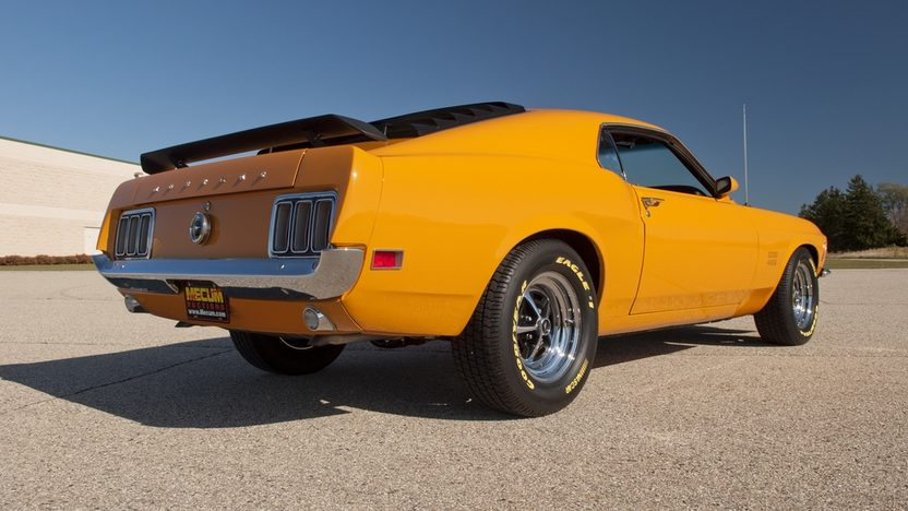 1970 Ford Mustang Boss 429 Fastback KK #2372, 4-Speed presented as lot S79 at Kansas City, MO 2011 - image2