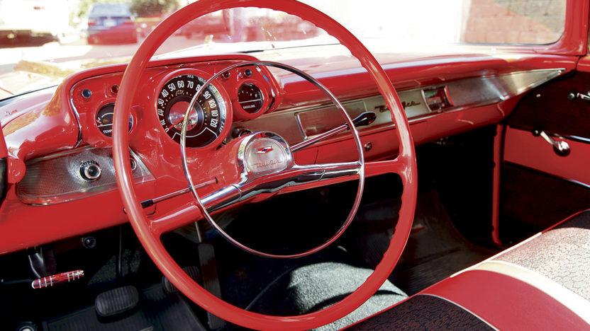 1957 Chevrolet Bel Air 2-Door Hardtop 283/283 HP, 3-Speed presented as lot S81 at Kansas City, MO 2011 - image4