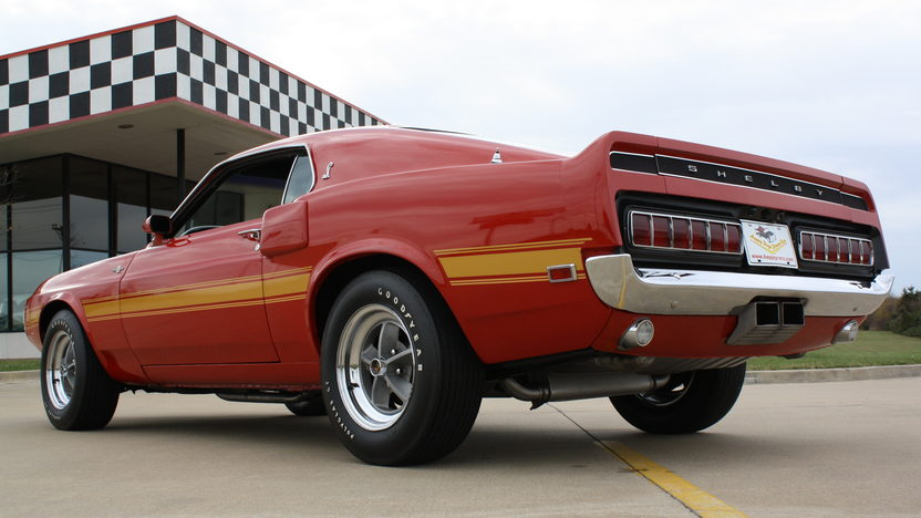 1969 Shelby GT500 Fastback 428 CI, Automatic presented as lot S82 at Kansas City, MO 2011 - image3