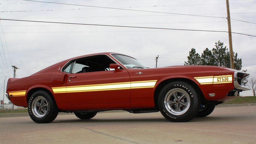 1969 Shelby GT500 Fastback 428 CI, Automatic presented as lot S82 at Kansas City, MO 2011 - image9