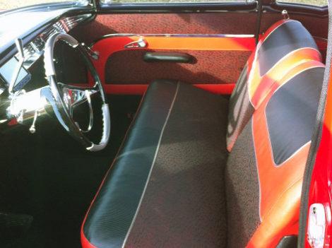1957 Chevrolet Bel Air 350 CI presented as lot S91 at Kansas City, MO 2011 - image2