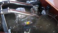 1942 Ford Woody Station Wagon presented as lot S96 at Kansas City, MO 2011 - thumbail image10