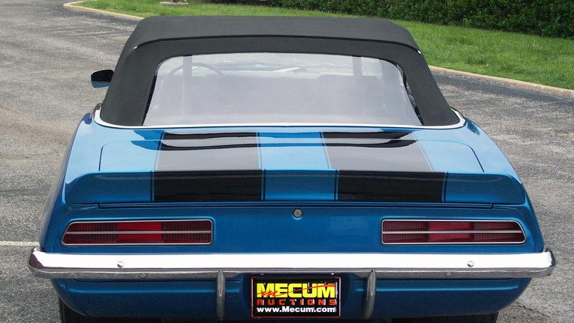 1969 Chevrolet Camaro Convertible 454 CI, Automatic presented as lot S98 at Kansas City, MO 2011 - image3