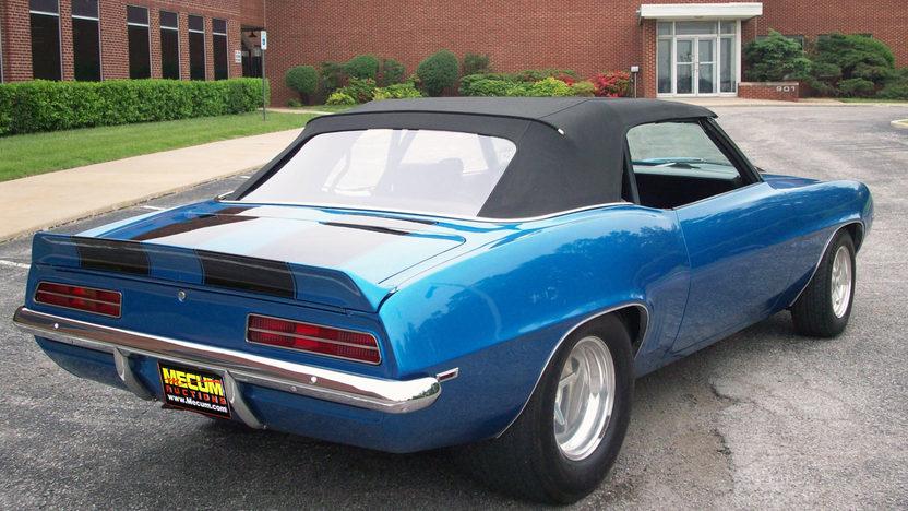 1969 Chevrolet Camaro Convertible 454 CI, Automatic presented as lot S98 at Kansas City, MO 2011 - image4