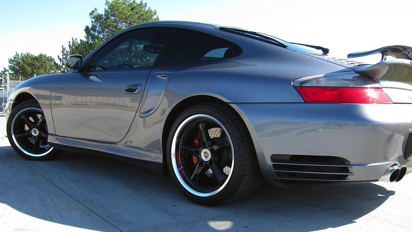 2001 Porsche 911 Turbo Coupe 3.6/600 HP, 6-Speed presented as lot S100 at Kansas City, MO 2011 - image5