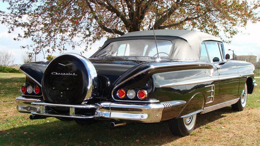1958 Chevrolet Impala Convertible 348 CI, Automatic presented as lot S105 at Kansas City, MO 2011 - image2